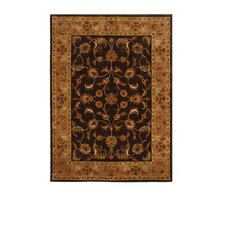 Tempest Dark Brown Camel Rug