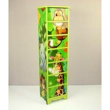Kinderkommode Dschungel mit 7 Schubladen