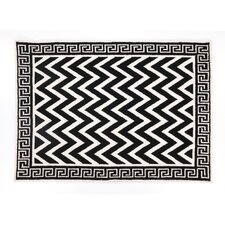 Melrose Black Hook Rug