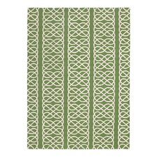 Nautical Knot Green Hook Rug