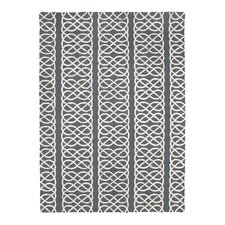 Nautical Knot Grey Hook Rug