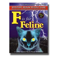 """F is for Feline"" Alphabet Mystery Puzzle"