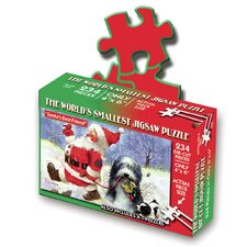 """Santa's Little Helper"" World's Smallest Puzzle"