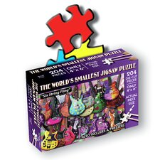 """Six String Fling"" World's Smallest Jigsaw Puzzle"