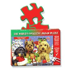 """Yule Pups"" World's Smallest Puzzle"
