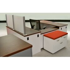 Trace U-Shape Desk Computer Desk