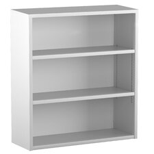 Trace 3-High Bookcase with 2 Adjustable Shelves