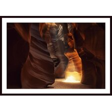 Sunbeam in Antelope Canyon Wall Art by Jeff Friesen