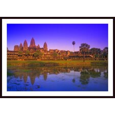 Angkor Wat Temple, Cambodia Wall Art by Carson Ganci