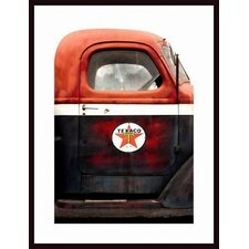 Texaco Gas Delivery Truck Wall Art by John Nakata