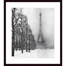 <strong>Barewalls</strong> Eiffel Tower, 1948 Wood Framed Art Print