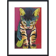 <strong>Barewalls</strong> Squirt Metal Framed Art Print