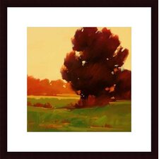 <strong>Barewalls</strong> Early Fall by Greg Stocks Wood Framed Art Print