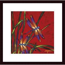 <strong>Barewalls</strong> Dragonfly Dreams by Robert Ichter Wood Framed Art Print