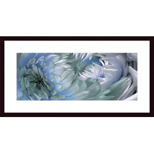 <strong>Barewalls</strong> Dahlias #6 Wood Framed Art Print