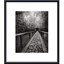 <strong>Barewalls</strong> Stone Path Metal Framed Art Print