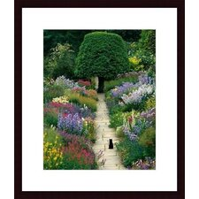 <strong>Barewalls</strong> The Garden Cat by Greg Gawlowski Wood Framed Art Print