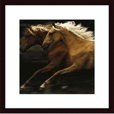 The Dance by Tony Stromberg Wood Framed Art Print