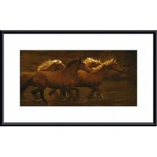 Tribe by Tony Stromberg Metal Framed Art Print