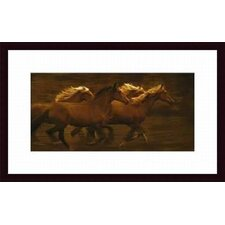 Tribe by Tony Stromberg Wood Framed Art Print