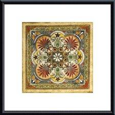 'Italian Tile I' by Ruth Franks Framed Painting Print