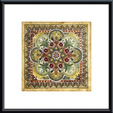 <strong>Barewalls</strong> Italian Tile III by Ruth Franks Metal Framed Art Print