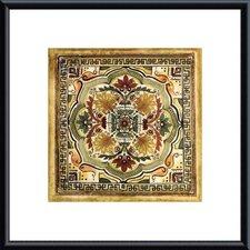 Italian Tile IV by Ruth Franks Framed Painting Print