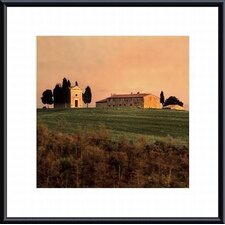 <strong>Barewalls</strong> Evening Light, Tuscany Metal Framed Art Print