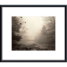 <strong>Barewalls</strong> Parish Hill Bridge Metal Framed Art Print