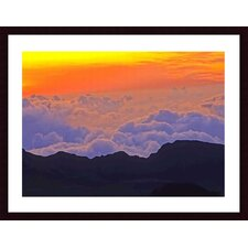 <strong>Barewalls</strong> Haleakala Sunrise Wood Framed Art Print