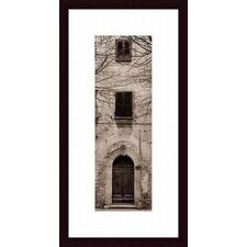 <strong>Barewalls</strong> La Porta Via Volterra, Wood Framed Art Print