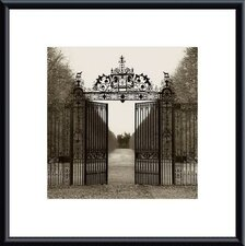 'Hampton Gate' by Alan Blaustein Framed Photographic Print