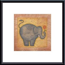 Elephant Metal Framed Art