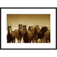 The Meeting by Tony Stromberg Metal Framed Art Print