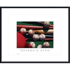 Season's Over Metal Framed Art Print