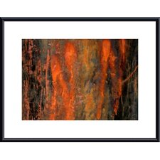 <strong>Barewalls</strong> Peeling Paint Abstract Metal Framed Art Print