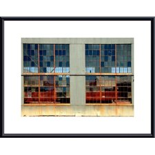 Window Panes by John K. Nakata Framed Photographic Print