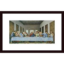 <strong>Barewalls</strong> The Last Supper by Leonardo da Vinci Wood Framed Art Print