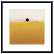 <strong>Barewalls</strong> One in Yellow by Ron Rogers Metal Framed Art Print