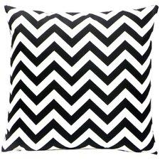 Zig Zag Polyester Pillow
