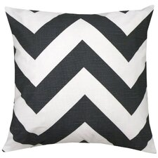 <strong>Elisabeth Michael</strong> Chevron Cotton Pillow