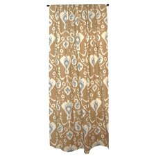 Tribal Ikat Cotton Curtain Single Panel