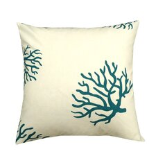 Coral Reef Cotton Pillow