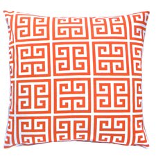 <strong>Elisabeth Michael</strong> Greek Key Towers Indoor / Outdoor Polyester Pillow