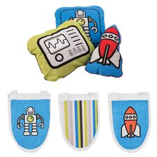 Robotic Pockets and Cushions Set
