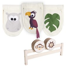 Jungle Pockets and Cushions Set