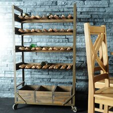 Industrial Living Wine Rack