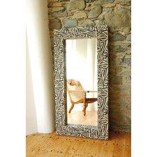 Woven Reed Mirror 4 Piece Set