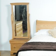 Elk River Oak Cheval Mirror