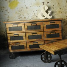 Industrial Living 9 Drawer Apothecary Chest
